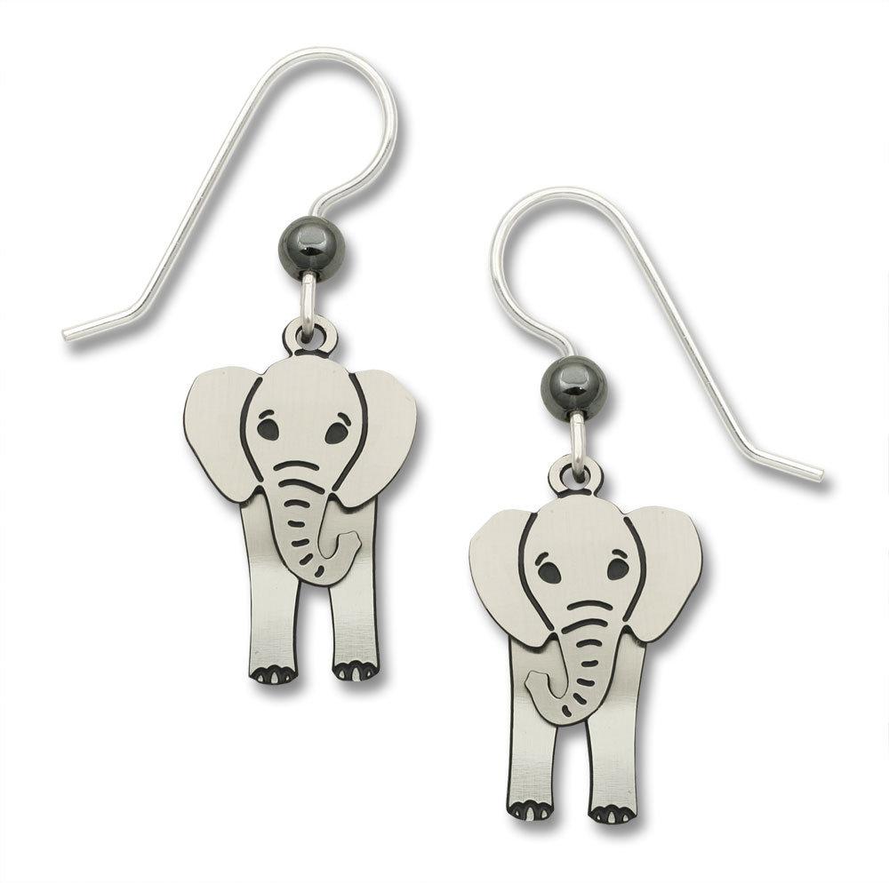 elephant earrings with swaying head