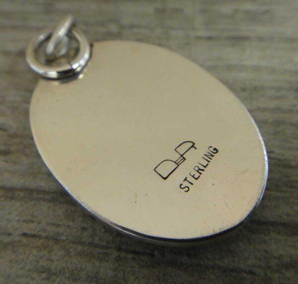back of morgan hill poppy jasper pendant