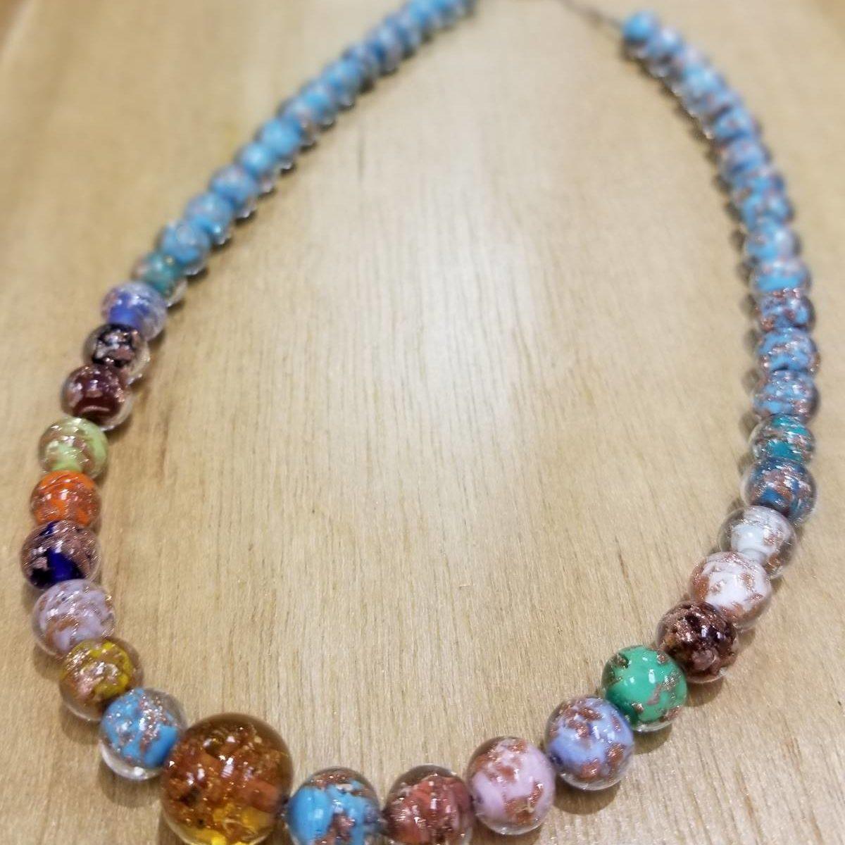 Multicolor Murano Glass necklace