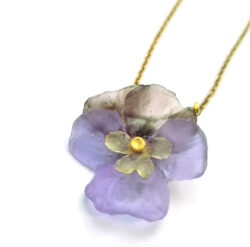 Michael Michaud Pansy Necklace