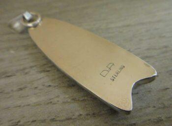 back of picante jasper pendant