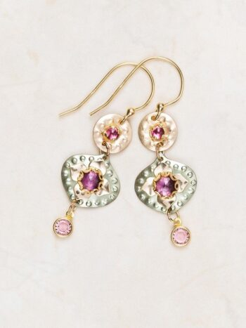 Eternal Flower earrings by Holly Yashi