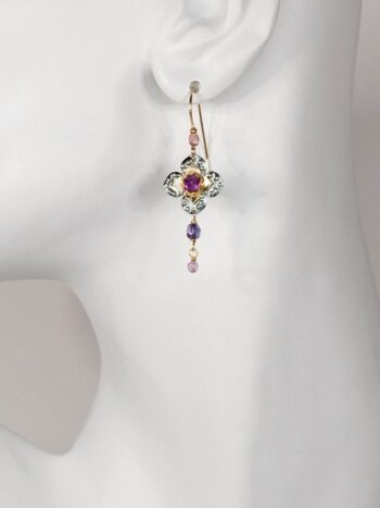 Royal Courtship earrings by designer Holly Yashi