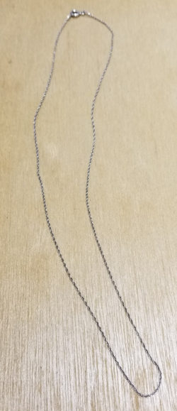 sterling silver rope chain