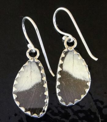 Back of Butterfly Artworks earrings