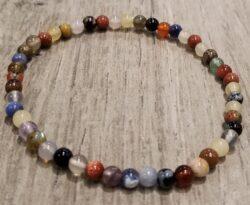 gemstone stretch bracelet