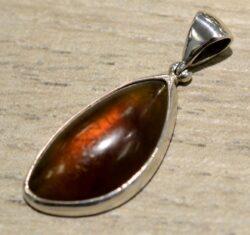 Sumatran amber pendant