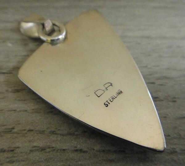back of tinguaite pendant